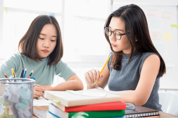 Chinese Tutors and students